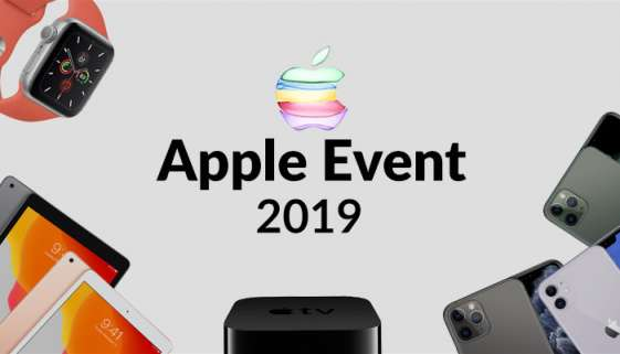 Apple Event Fall 2019